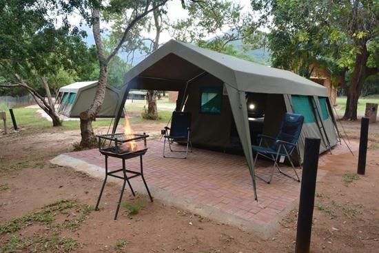 Swadini, A Forever Resort: 2-Sleeper Luxury Double Tent. 1 Bedroom (1 double bed)